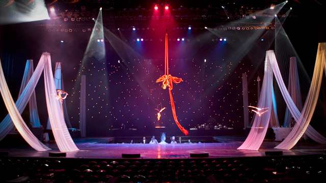 Entertainment in Grand Theatre at Grand Sierra Resort
